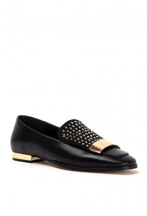 Lava Black Leather