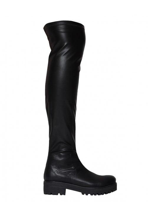 Sheba Black Leather