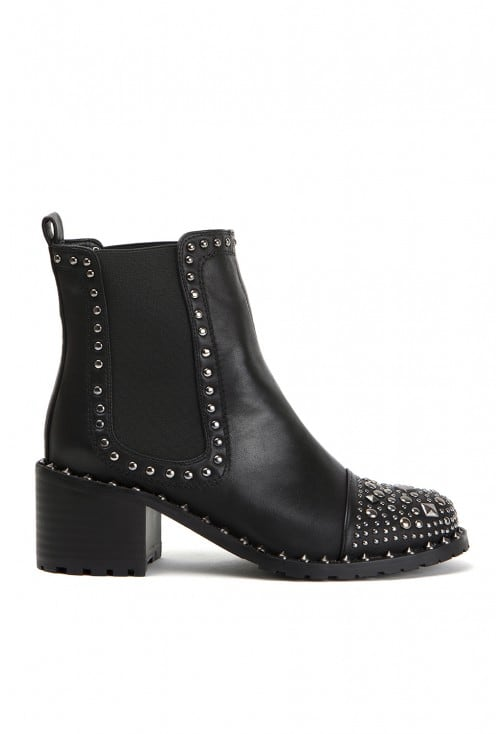 Salem Black Leather