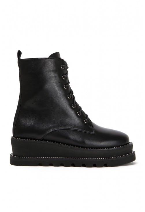 Tolstoy Black Leather