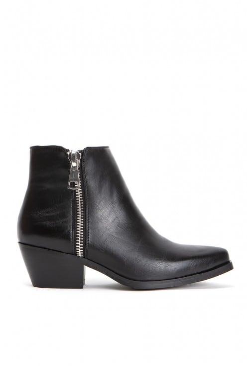 Linizio Black Leather Lo