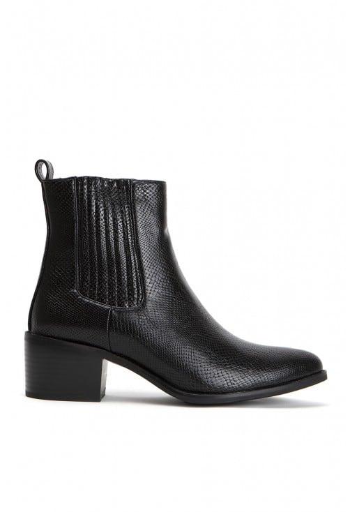 Kazaar Black Leather