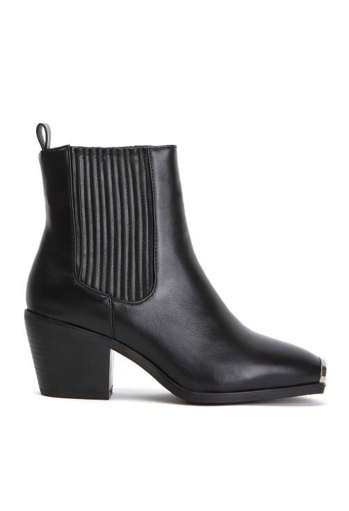 Chiarro Black Leather