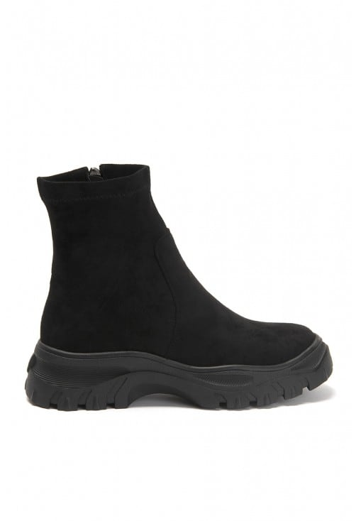 Speedy Black Suede N