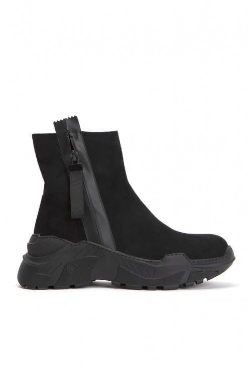 Hyperion Black Suede