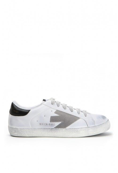 Arrow White Grey