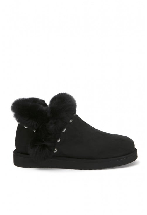 Gloria Black Suede