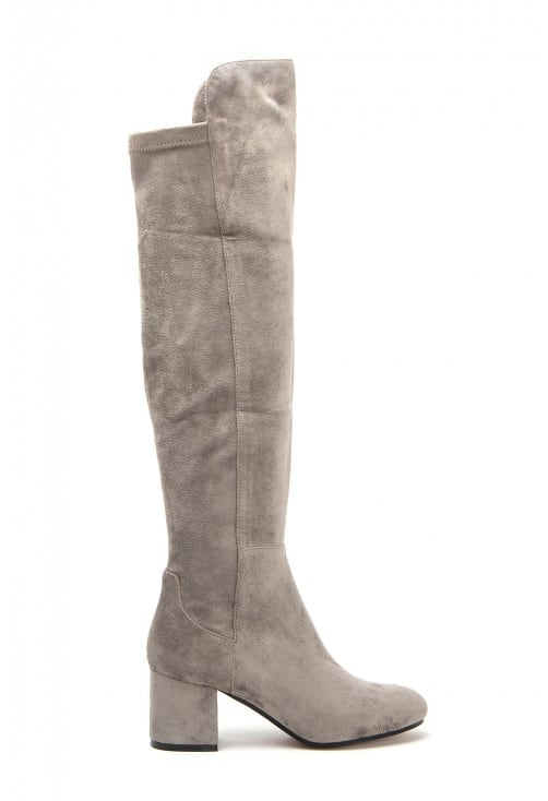 Ace Taupe Suede