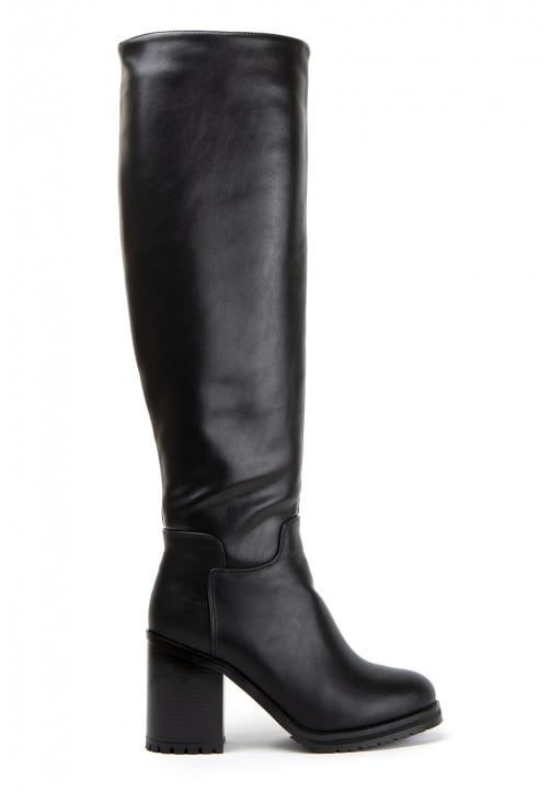 Morelia Black Leather
