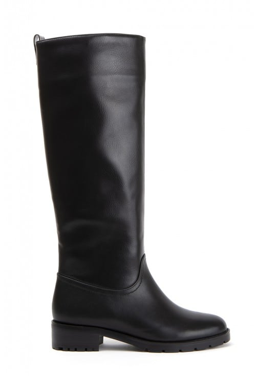 Chiapa Black Leather