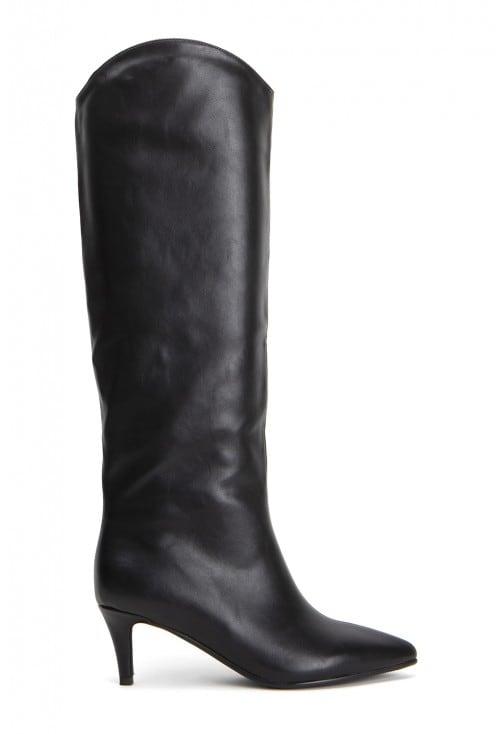 Elbert Black Leather