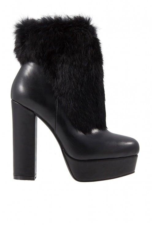 Jackie Black Leather