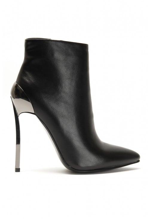 Tate Black Leather