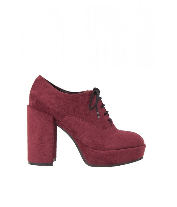 Witch Bordo Suede