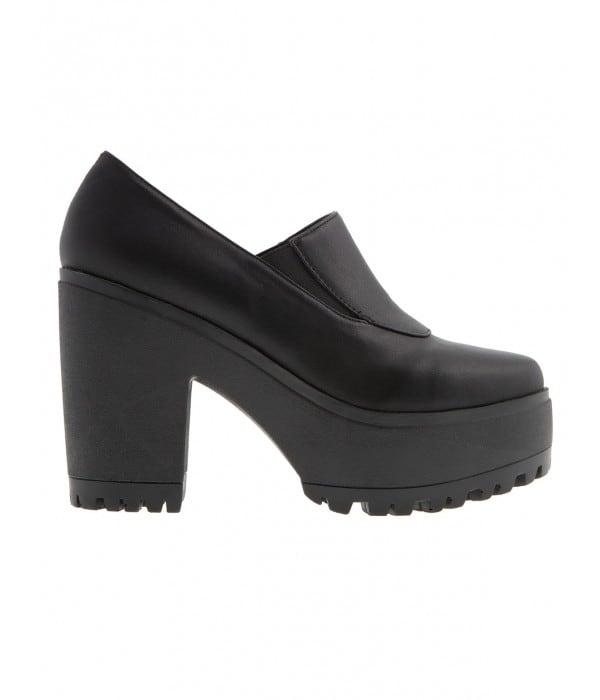 Ellie Black Leather