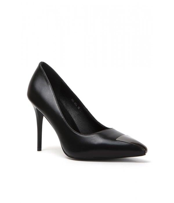 Brest Black Leather