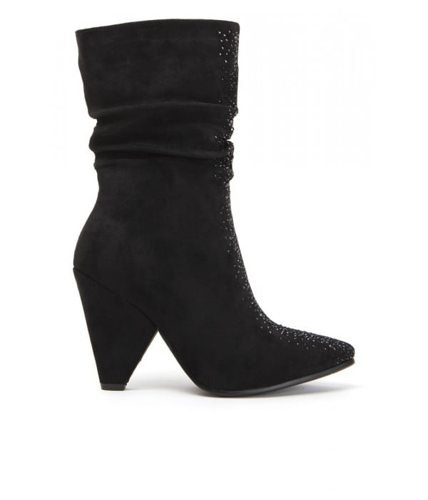 Bantry Black Suede