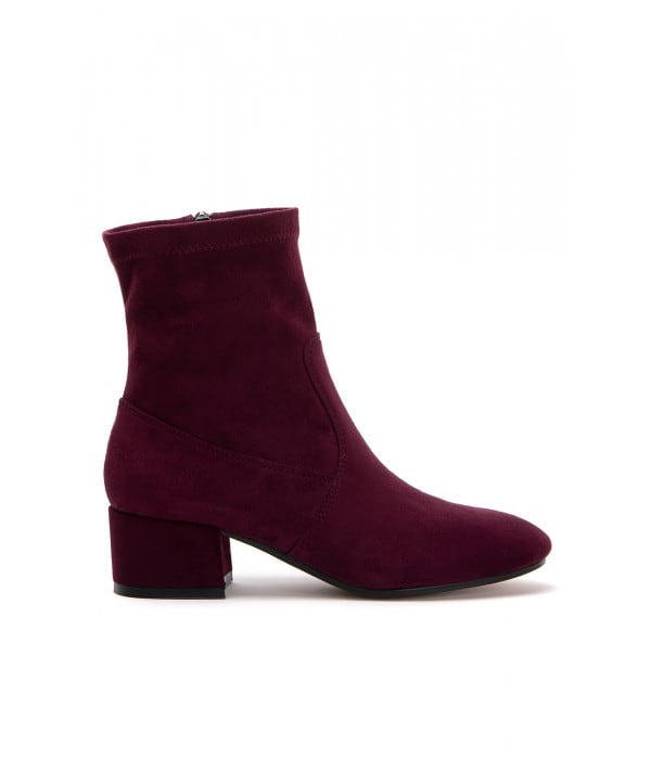Cash Bordo Suede