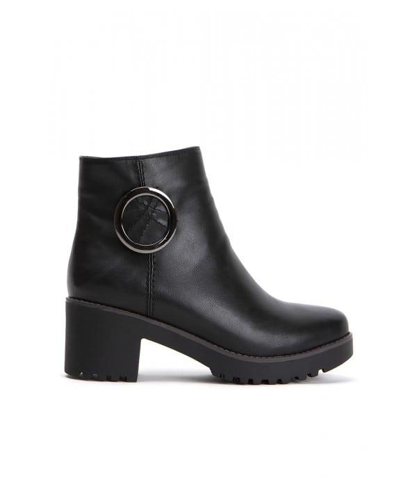 Isabella Black Leather