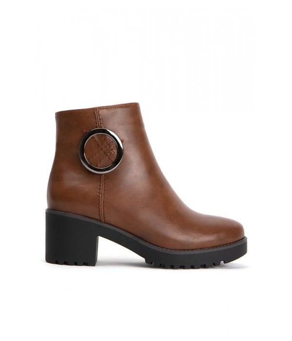 Isabella Brown Leather