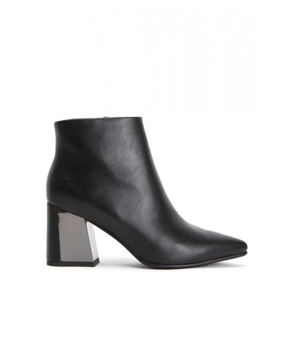 Ravenna Black Leather