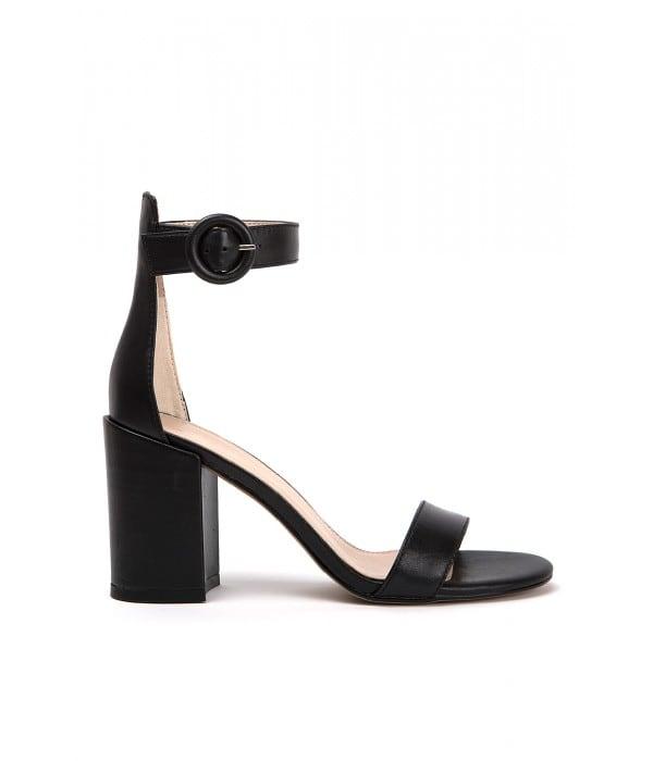 Ileana Black Leather