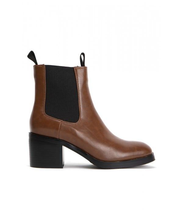 Seren Brown Leather