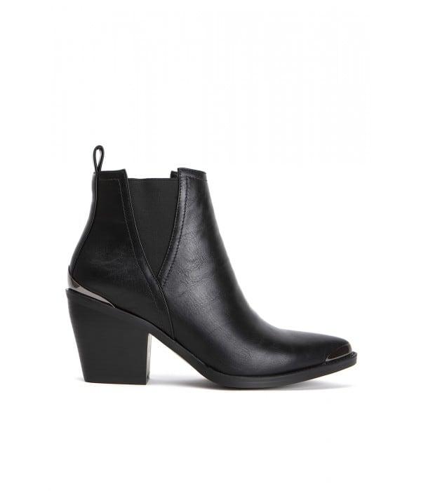 Scuro Leather Black Lo