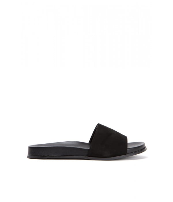 Mulberry Black Suede