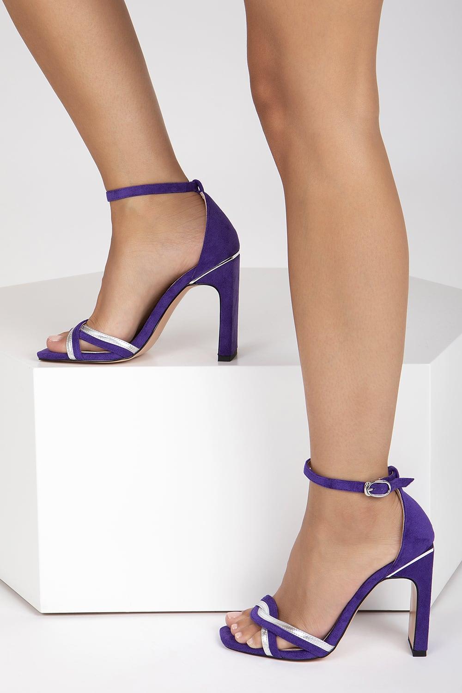 Amethyst Purple Suede