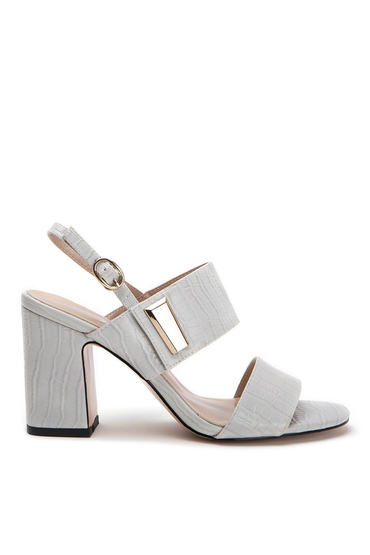 Heaven Grey Leather