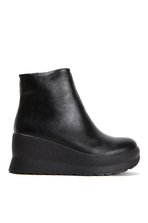 Margie Black Leather