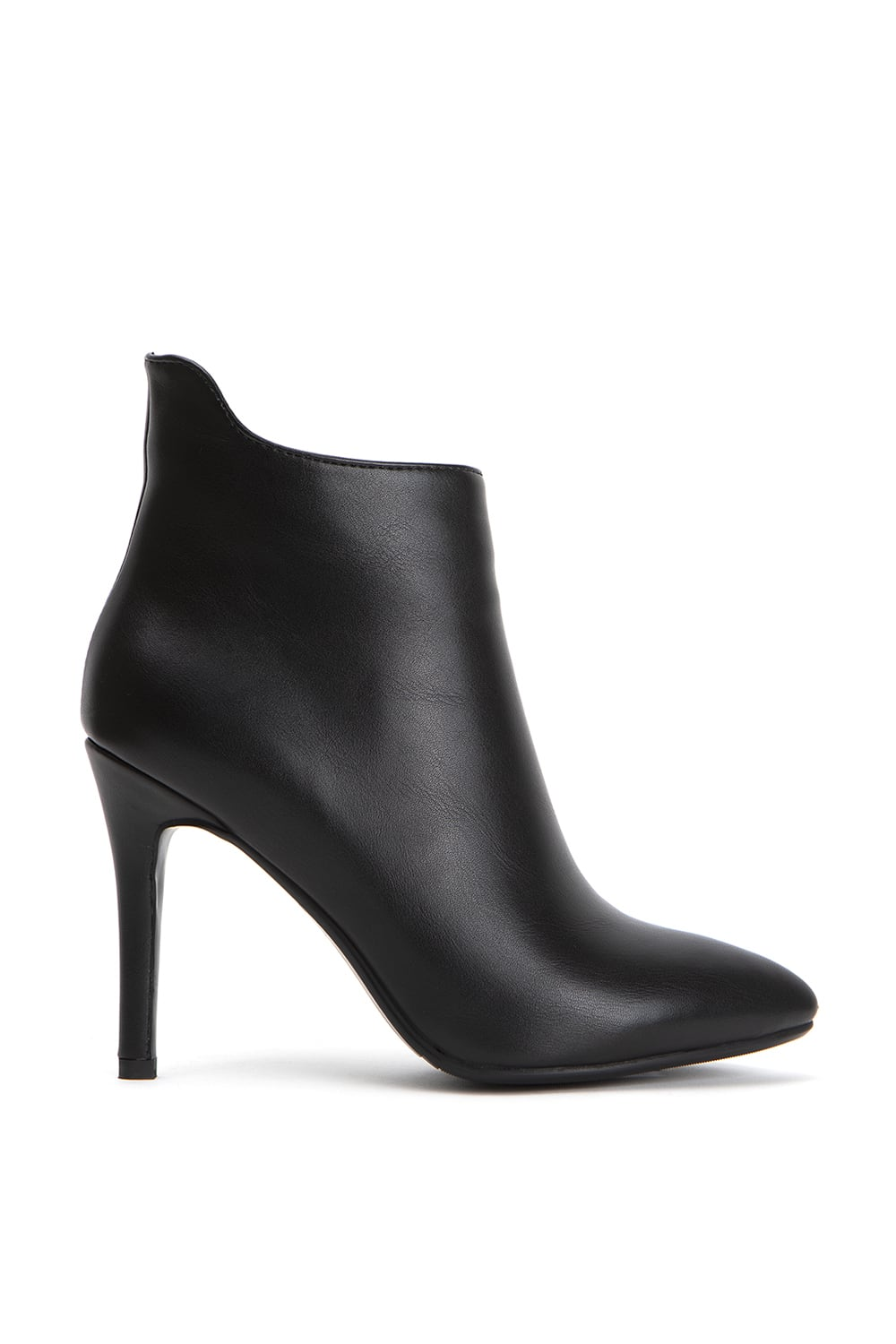 Delut High Black Leather