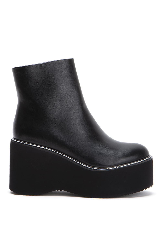 Techno Black Leather