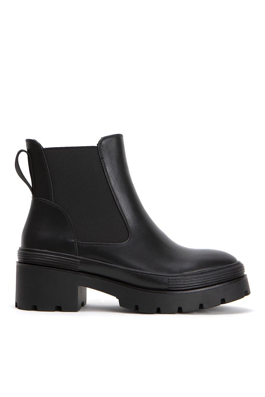 Combat Black Leather