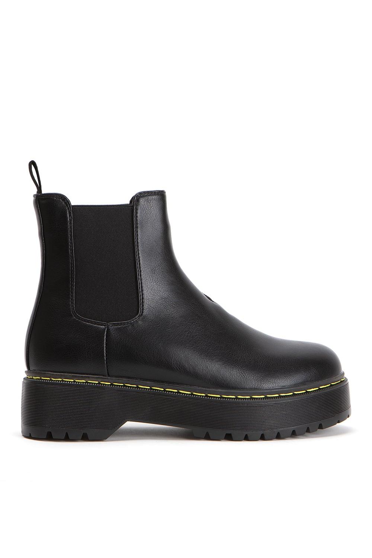 Howard Black Leather