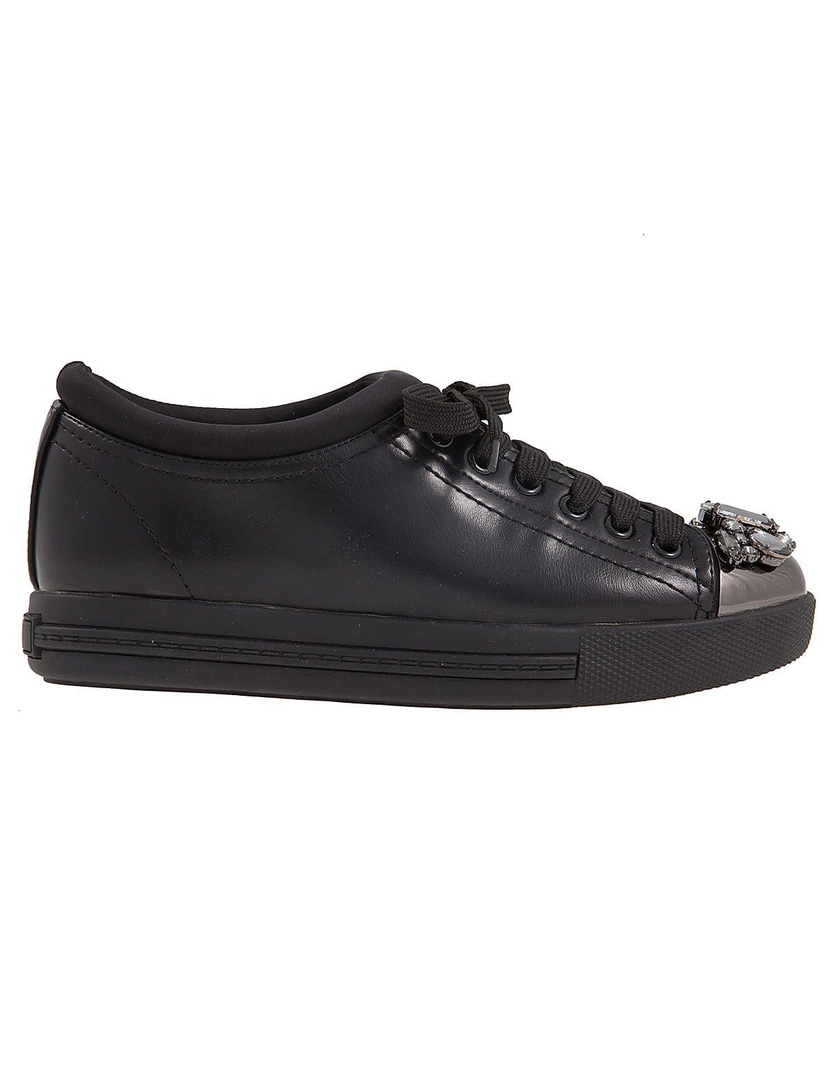 Divine Black mrs fred   sneakers