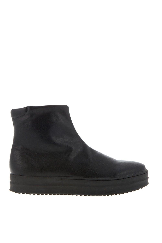 Lara Black Leather χειμερινα ολα 50    sneakers