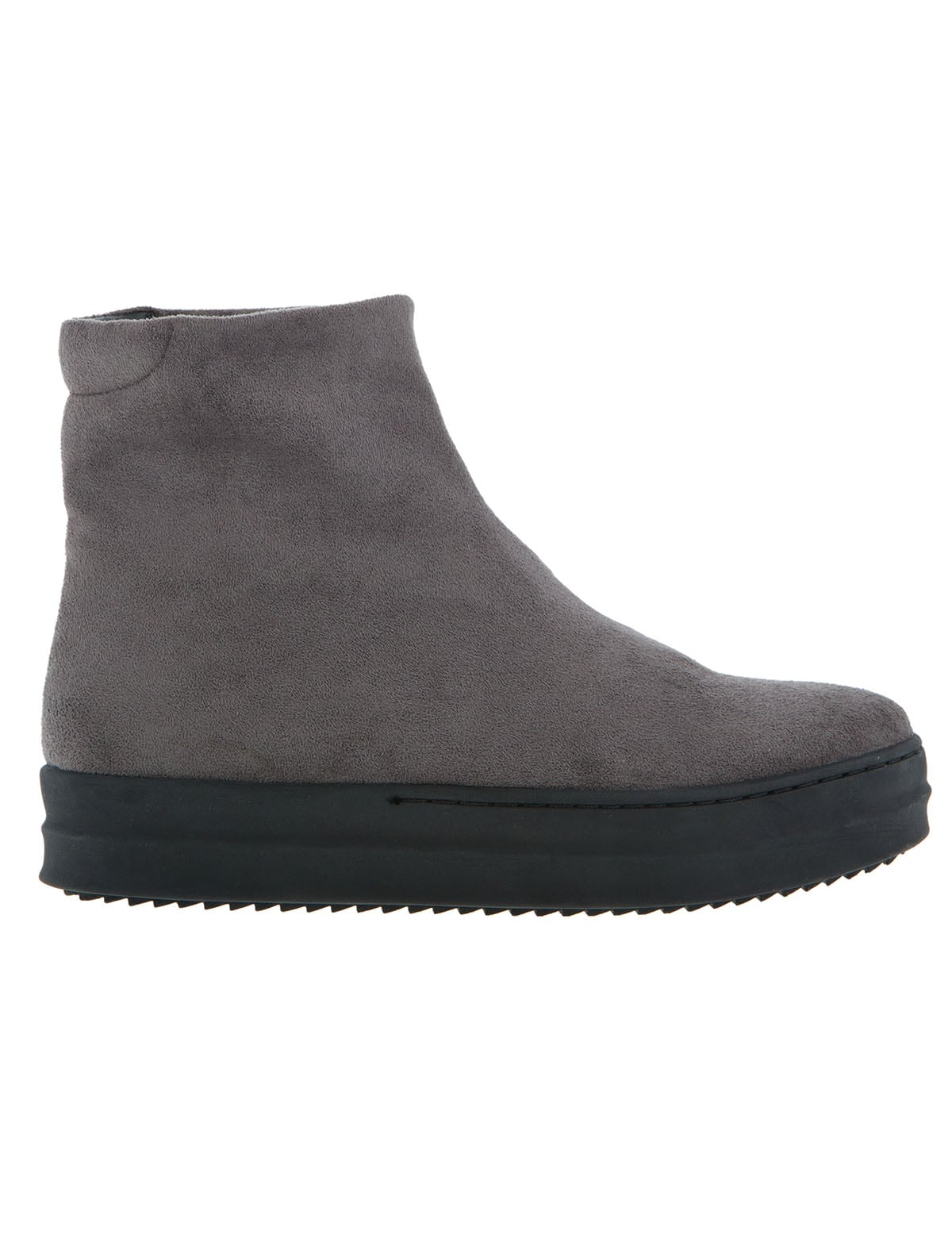 Lara Grey Suede χειμερινη συλλογη   sneakers
