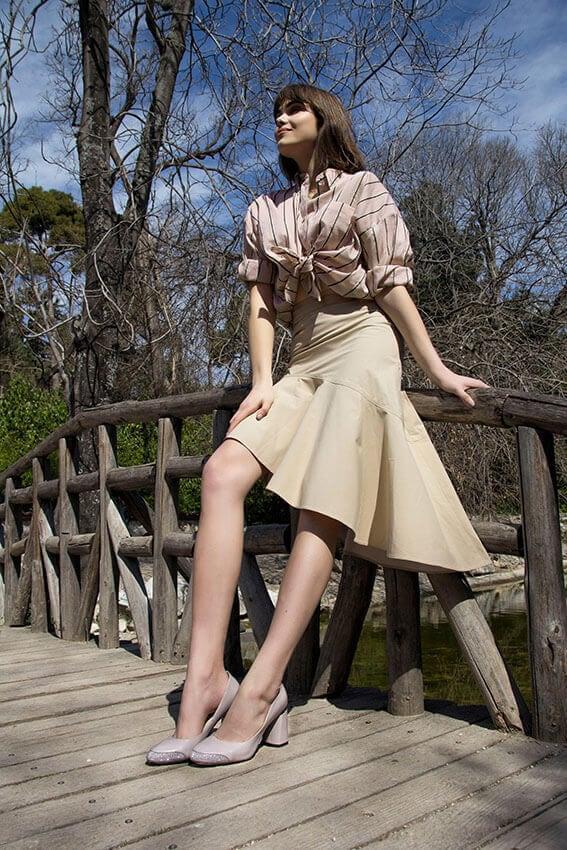 Lela Cipria Leather