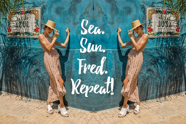 Summer Sun – Sea – Fred – Repeat!
