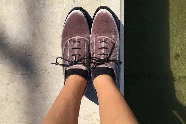 Colour your Oxford shoes!