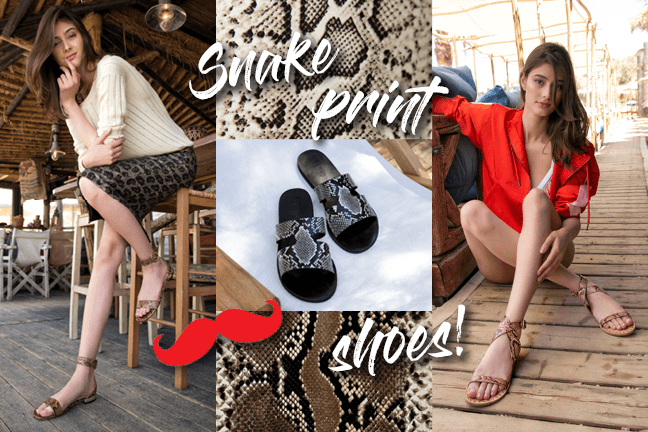 Snake Print Shoes - It's the trend!