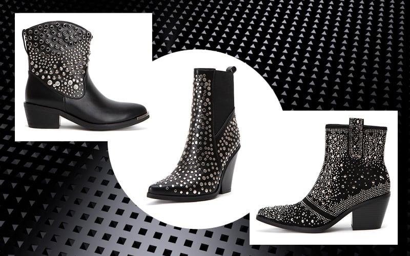 γυναικεια cowboy boots μοντέρνα και παραδοσιακά σχέδια