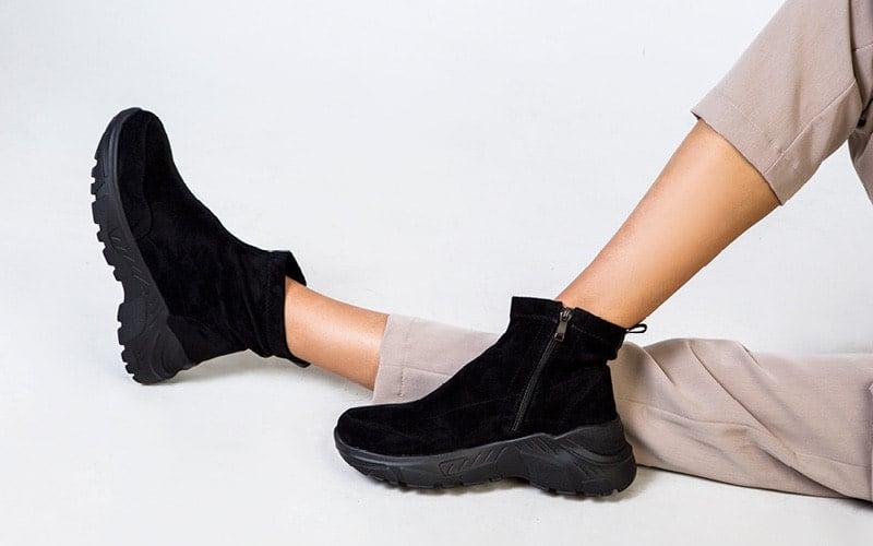 γυναικεια μποτακια πλατφορμα sneakers