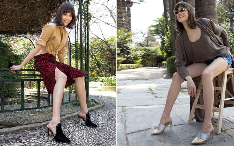 mules stilleto hot γυναικεια παπουτσια