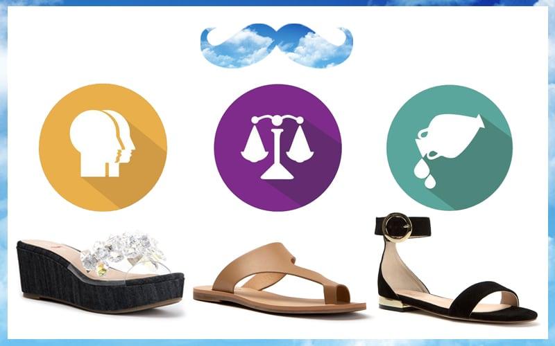 Ζώδια του αέρα επιλέξτε τα κατάλληλα παπούτσια για εσάς