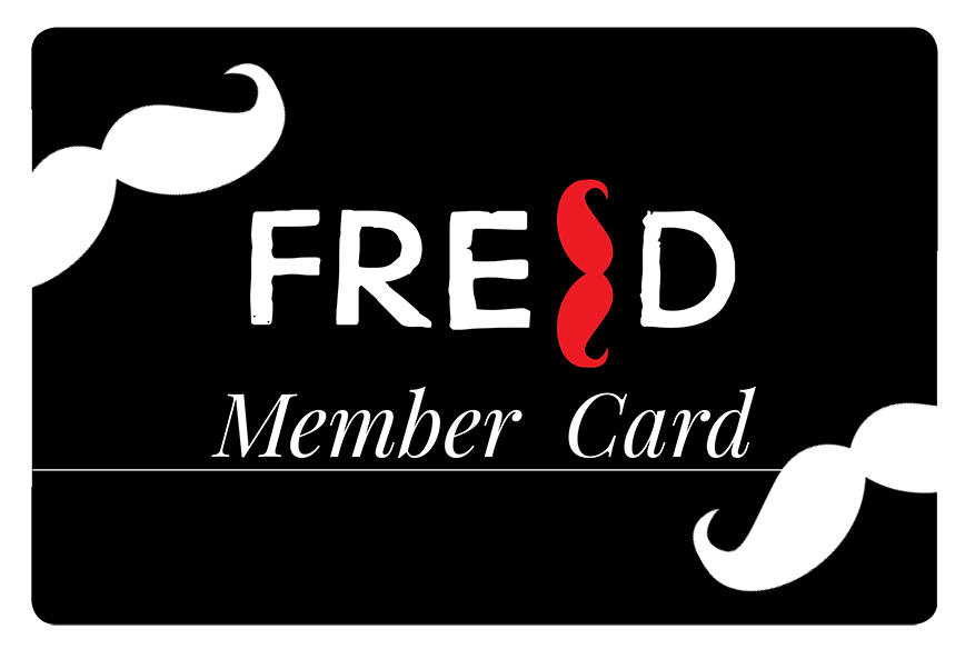 FRED MEMBER CARD
